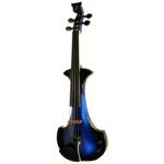 Bridge Aquila Electric Violin in Blue / Black