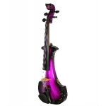 Bridge Aquila Electric Violin in Purple / Black