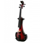 Bridge Aquila Electric Violin in Red / Black