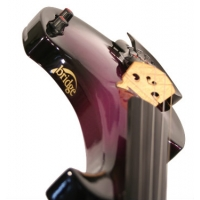 Bridge Aquila Electric Violin in Pinky Purple with Hard Case & Carbon Fibre Bow