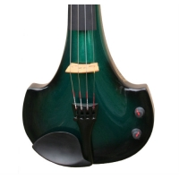 Bridge Aquila Electric Violin in Green / Black