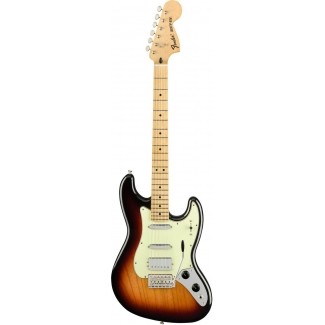 Fender Alternate Reality Sixty-Six, 3 Colour Sunburst, Limited Edition!