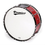 Premier Military Marching Bass Drums Available In Various Sizes & Finishes