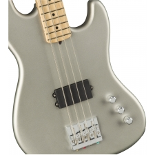 Fender Flea Signature Active 4-String Jazz Bass in Satin Inca Silver with Case