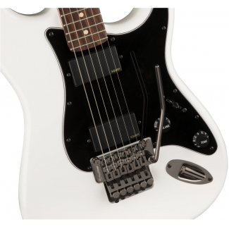 Squier Contemporary Active Stratocaster HH Electric Guitar in Olympic White