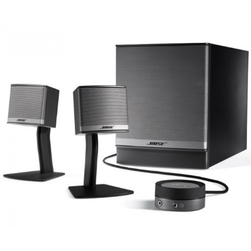 bose companion 3 series 2 bose companion 3 series 2 multimedia speaker system at promenade music. Black Bedroom Furniture Sets. Home Design Ideas