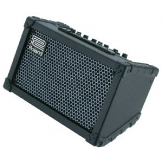 Roland Cube Street 2.5+2.5W Acoustic Amp, Black