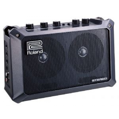 "Roland Mobile Cube Portable Battery Powered Combo Amp (2.5+2.5W, 4x2"")"