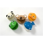 Percussion Plus PP1130 Pack of 5 Animal Castanets