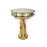 Percussion Plus PP1144 Brass Doumbek 12""