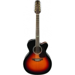 Takamine GJ72CE 12 BSB Brown Sunburst, Secondhand