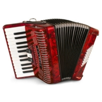 Hohner 1304 RED Student Hohnica Accordion