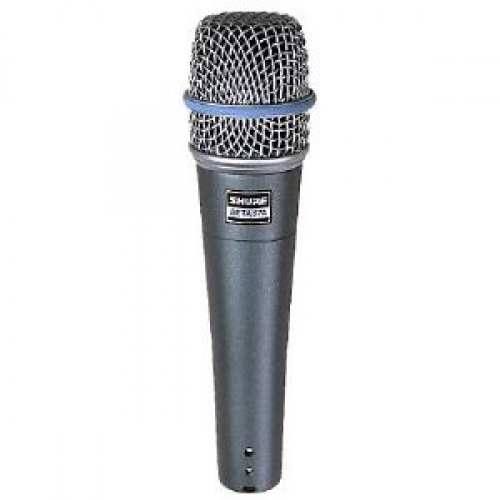 Shure Beta 57A Supercardioid Dynamic Microphone inc Bag