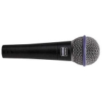 Shure Beta 58A Vocal Dynamic Mic, Supercardioid