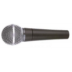 Shure SM58 LC Industry Standard Vocal Mic, Includes Clip