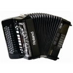 Roland FR18 Diatonic V-Accordion in Black (With Gig Bag)