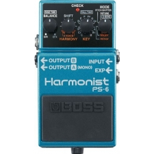 Boss PS6 Harmonist Pitchshift and 3 Voice Harmony Stomp Box