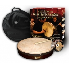 "Waltons 15"" Bodhran Player's Pack with Cover, Beater & DVD (16055)"