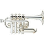 Yamaha YTR6810S Bb/A Trumpet (Silver Plated) with Case & Mouthpiece