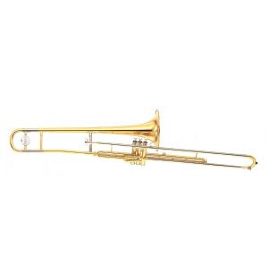 Yamaha ysl354v bb valve trombone with case mouthpiece at for Yamaha trombone case