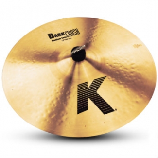 Zildjian K Dark 18'' Thin Crash Cymbal K0904