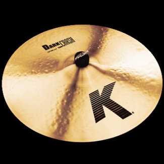 Zildjian K Dark 16'' Thin Crash Cymbal K0902