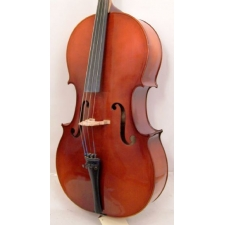 Full-size Josephus Greinberge Cello With Bow & Bag, Secondhand