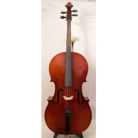Josephus Greinberge 4/4 Cello with Bow & Bag - Secondhand