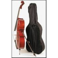 Stentor 3/4 Student 1 Cello Outfit with Cover & Bow (#1102C)