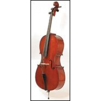 Stentor Student II 4/4 Size Cello With Cover & Bow (#1108A)