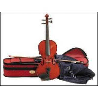 """Stentor 16.5"""" Student 2 Viola Outfit with Case, Bow & Workshop Set Up (1505QE)"""