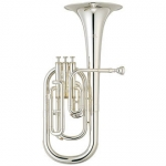 Yamaha YAH203S Eb Tenor Horn, Silver Plated With Case & Mouthpiece