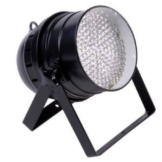 Prolight LEDJ LED64 Color PAR64 Floor Can in Black