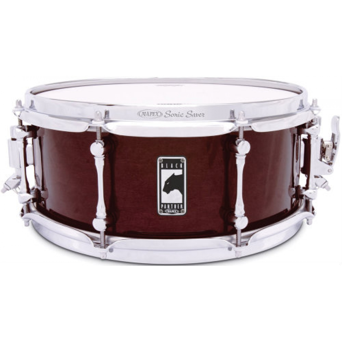 mapex black panther 39 the cherry bomb 39 13 x5 5 snare drum at promenade music. Black Bedroom Furniture Sets. Home Design Ideas
