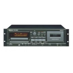 Tascam CDA550 CD / Cassette Player, Rack Mount