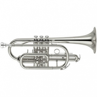 Yamaha YCR2330SIII Bb Cornet (Silver Plated) with Case & Mouthpiece