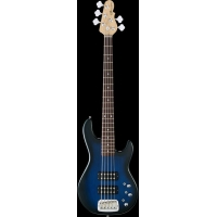 G&L Tribute Series L2500 5 String Bass, Blueburst