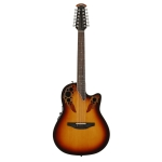Ovation 2758AX-NEB 12 String Standard Elite E Deep Contour Cutaway Electro In New England Burst