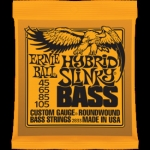 2 Sets of Ernie Ball 2833 Hybrid Slinky Electric Bass Guitar Strings 45-105