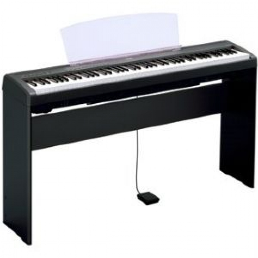 yamaha l85 matching stand in black for the yamaha p85 or
