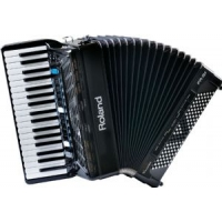 Roland FR3X V-Accordion in Black with Gig Bag