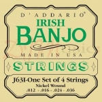 J36i Irish Tenor 4 String Banjo Strings