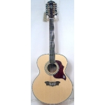 Washburn J28S12DL Acoustic Guitar in Natural