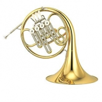 Yamaha YHR322-II Single 4 Valve Bb French Horn With Fixed Bell, Inc Case