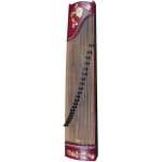 Atlas Gu Zheng, Traditional Chinese 21 String Zither with Stand & Bag (GR36022)