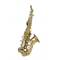 ARTEMIS SOPRANO SAX CURVED OUTFIT - GOLD LACQUER 3631AS1