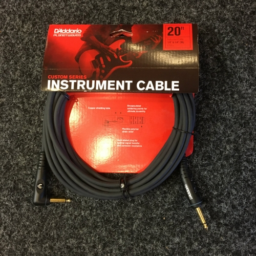 Planet Waves 20FT Guitar Lead, PW-GRA-20 Angled