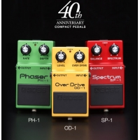 Boss 40th Anniversary Compact Pedals Limited Edition Box Set