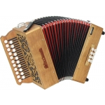 Sherwood Shire II D/G 2-Row Melodeon inc Italian Cagnoni Reeds & Bag (GR42054)