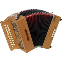 Sherwood Howe II B/C Melodeon with Cagnoni Reeds & Bag (GR42055)